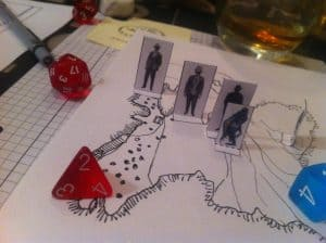 Call of Cthulhu investigators and deep ones
