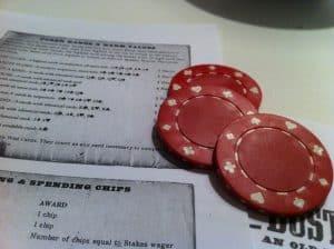 Dust Devils poker chips