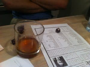 Call of Cthulhu and whiskey