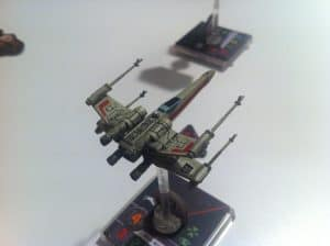 X-Wing Miniatures X-wing closeup