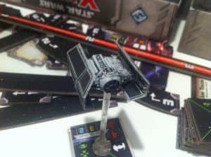 X-Wing Miniatures Tie-Bomber closeup
